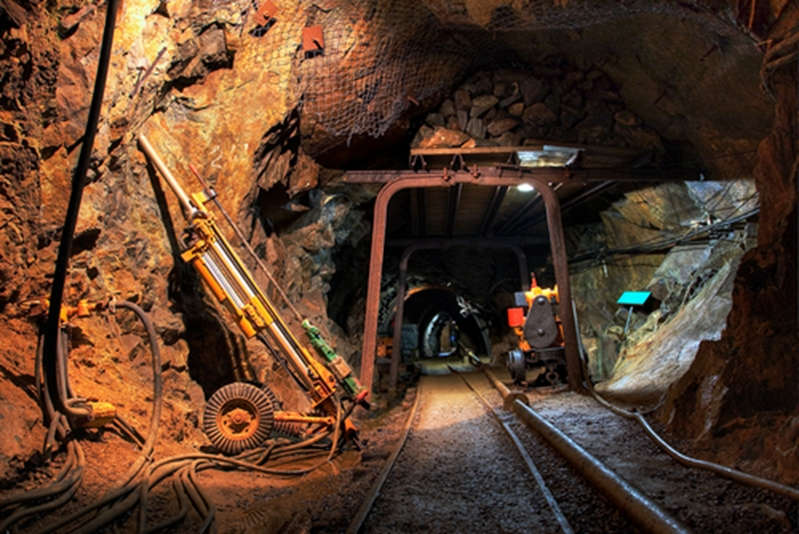 Underground mines are subjected to emissions risks.