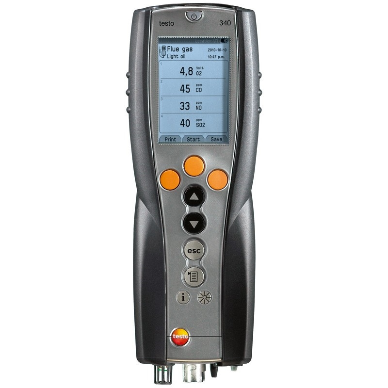 The testo 340 Gas Analyser is the perfect tool for measuring a number of gas parameters.