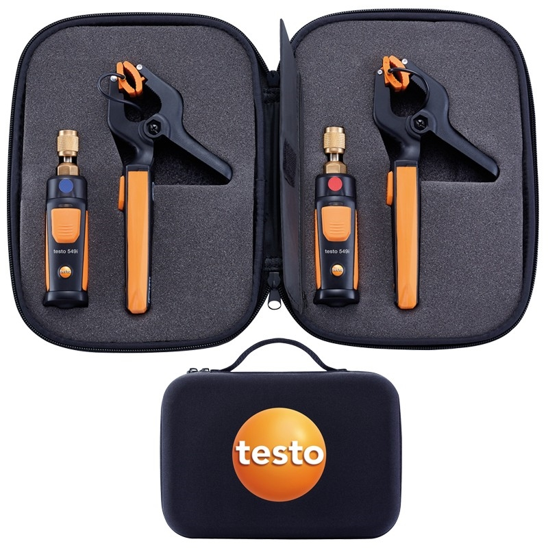 The testo smart refrigeration set can completely eliminate refrigerant loss.