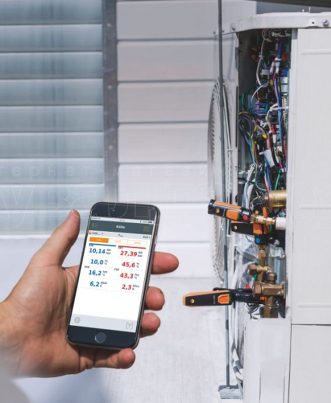 The testo smart refrigeration set provides facility managers with unparalleled flexibility.