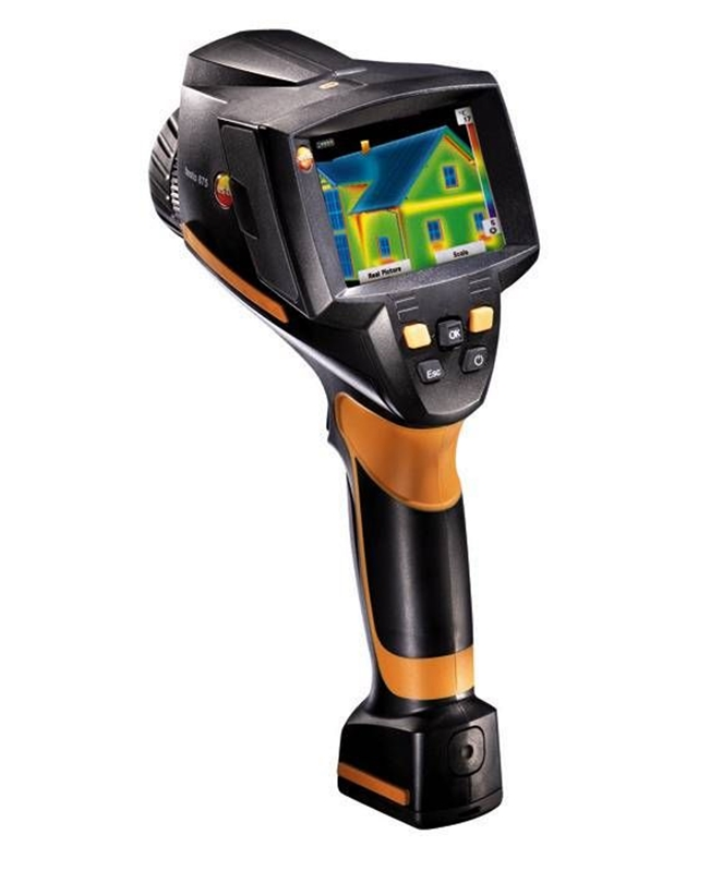 The testo 875-1i is a powerful thermal imager.
