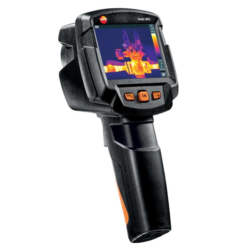 The testo 865 is an ideal entry-level option.