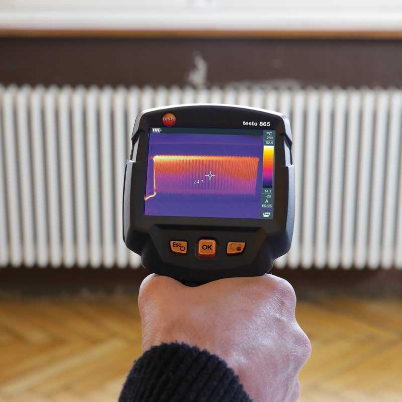 The testo 865 thermal imager is a great entry-level option.
