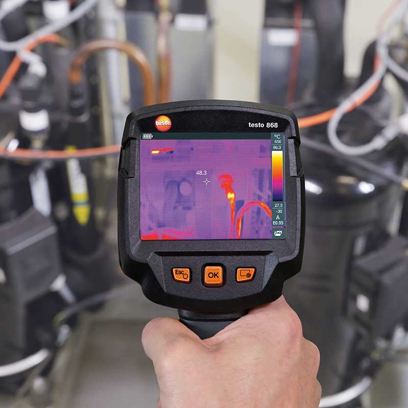 Image resolution is a key concern when buying a thermal camera.