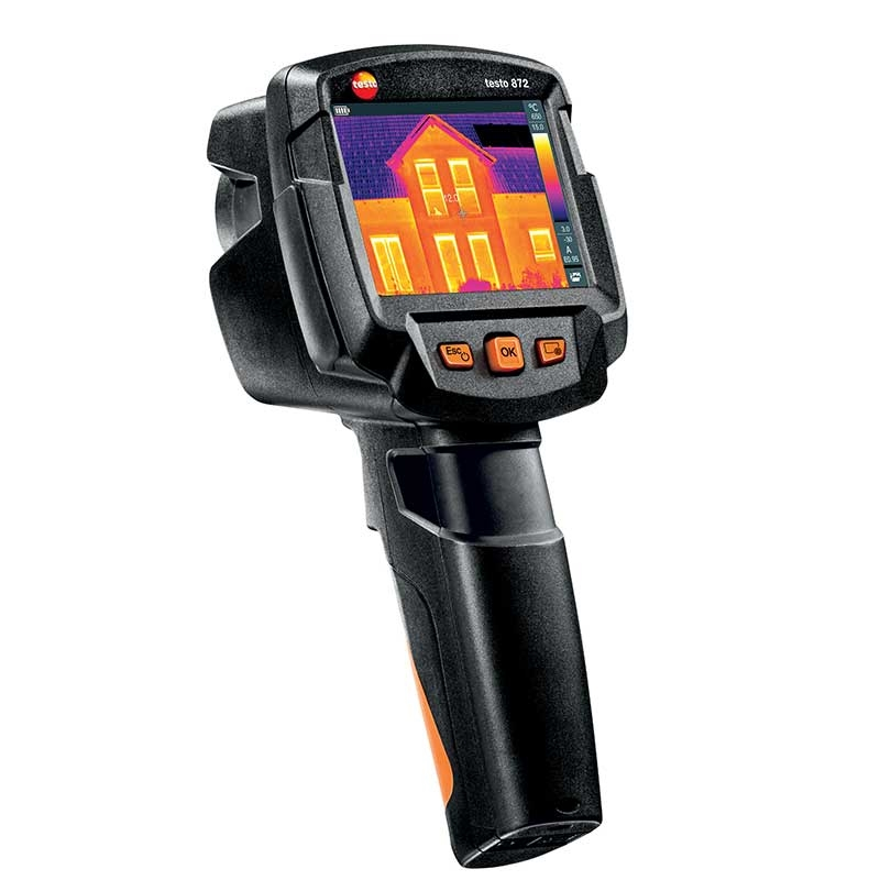 The testo 872 is our premium thermal imager.