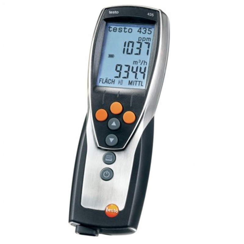 The testo 435-2 is ideal for indoor air quality management.