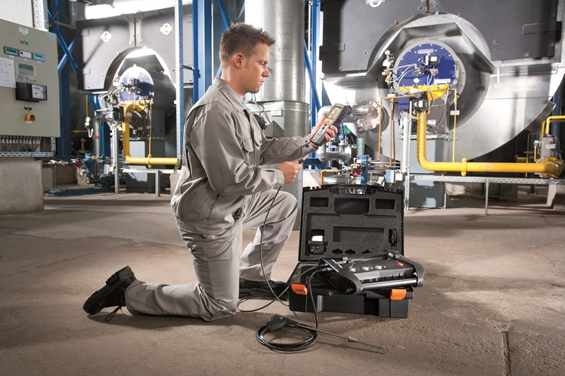 The testo 350 relies on annual calibration to remain highly accurate.