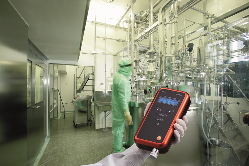 The testo DiSCmini is viable in a wide variety of industries.