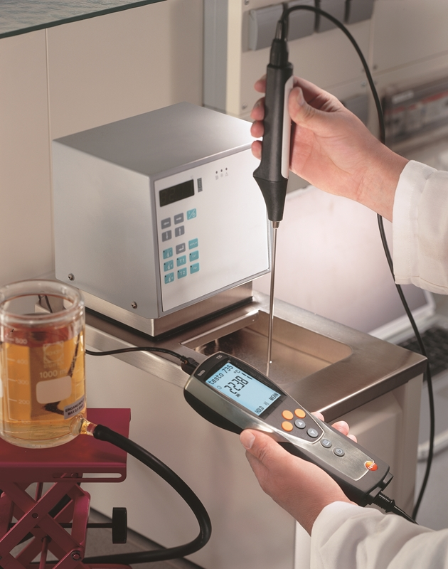 Testo's calibration equipment ensures you get the most precise measurements.