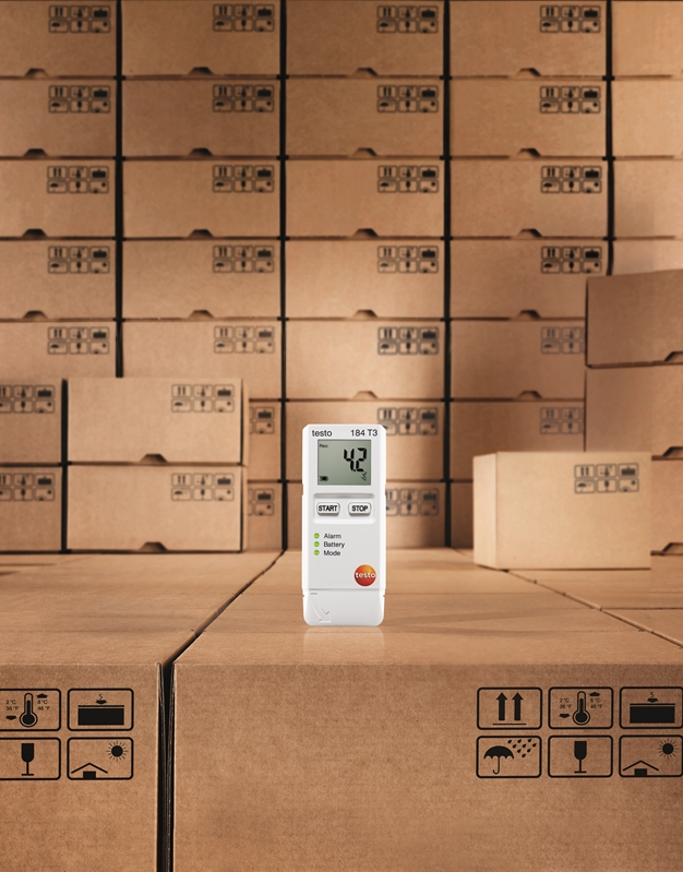 Testo's 184 T3 is ideal for reliable ongoing temperature monitoring.