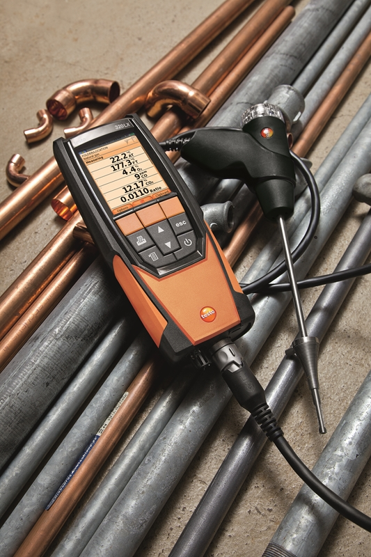 The testo 320 LX is ushering in the new age of flue gas analysis technology.