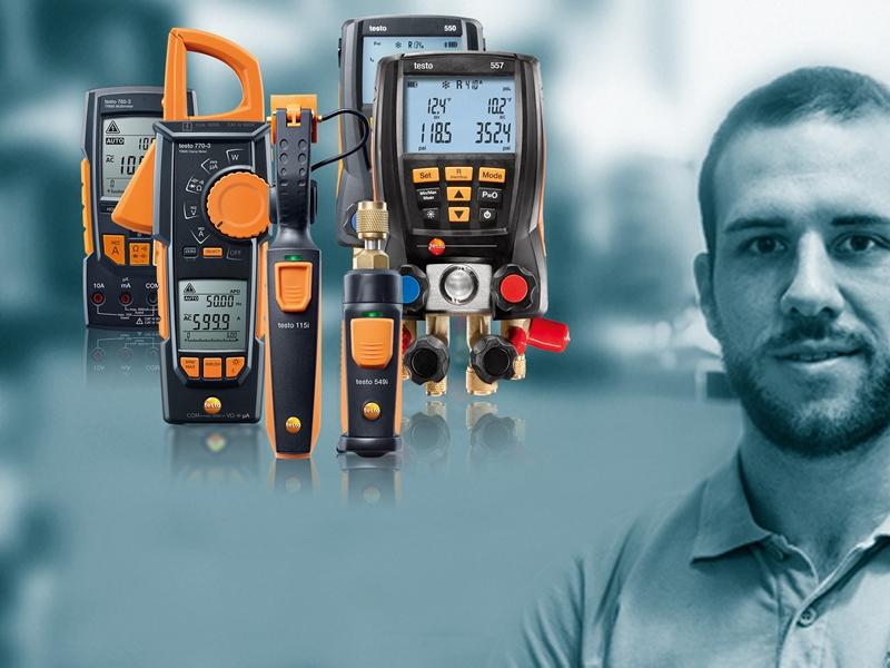 An image featuring various Testo gauges.