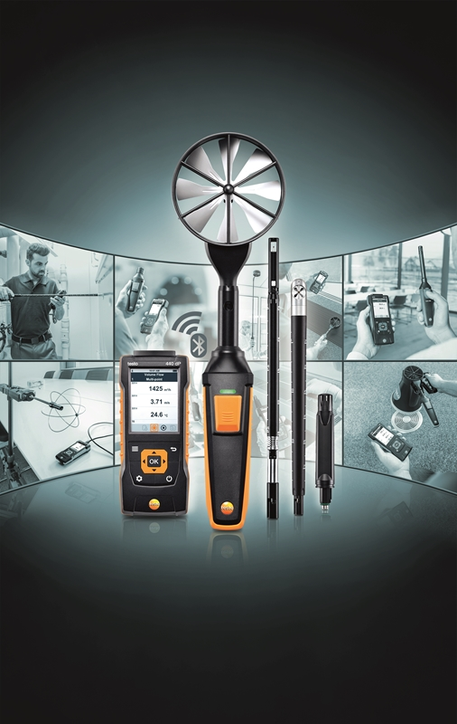 The testo 440 IAQ measuring system is the perfect tool for assessing the air quality in your workplace.