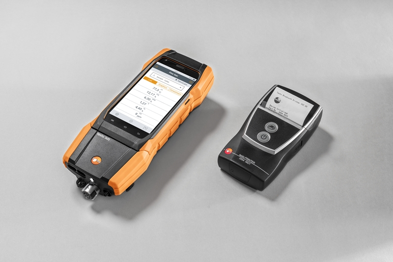 The testo 300 offers unparalleled ability to export and share boiler system performance data.