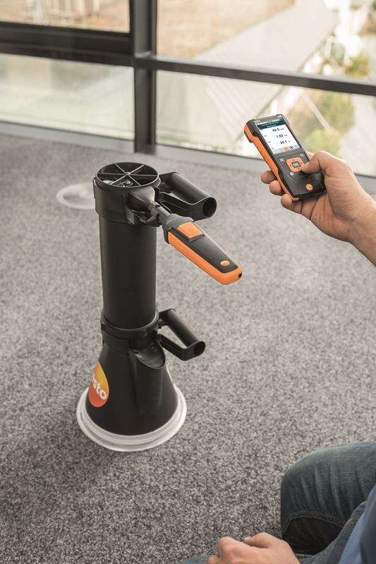 Use the testo 440 to avoid any potential threats from poor indoor air quality.